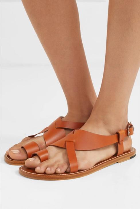 Кожени сандали от BOTTEGA VENETA