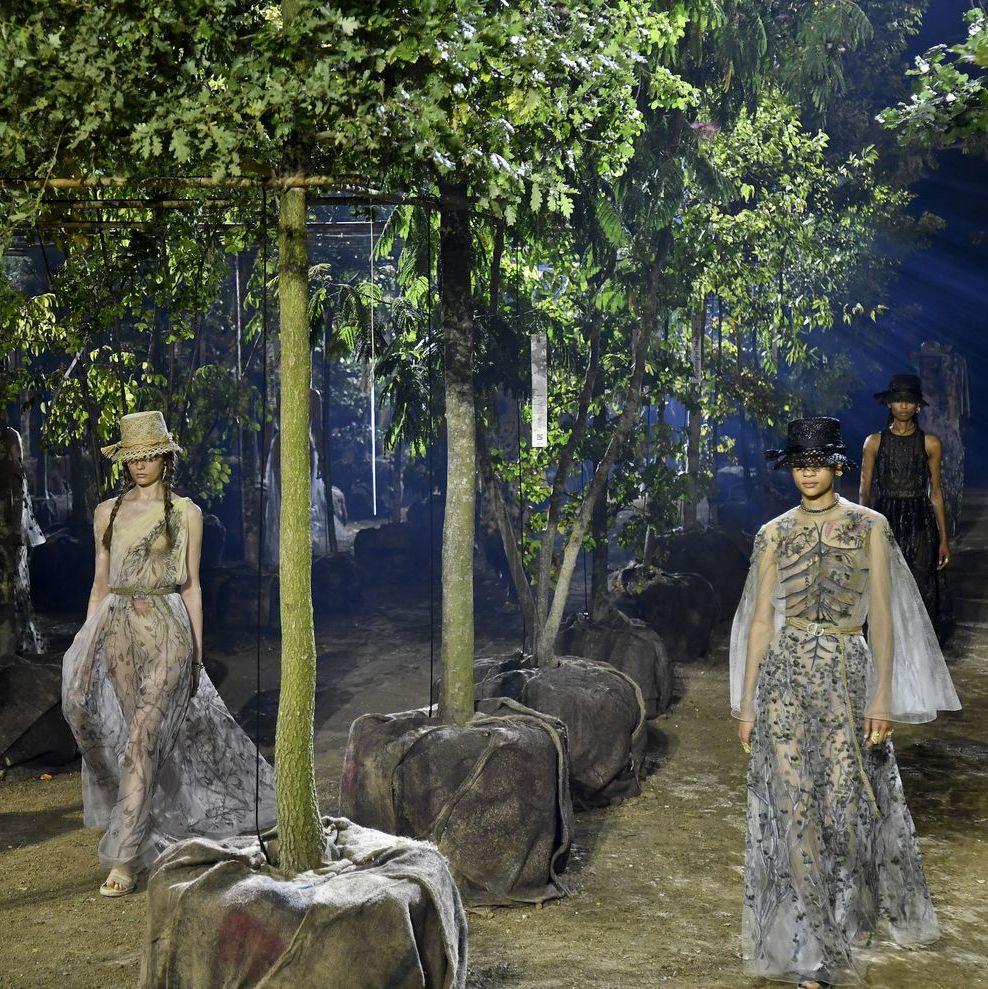 Dior 2020: Една гора, много стил и цяла планета за спасяване