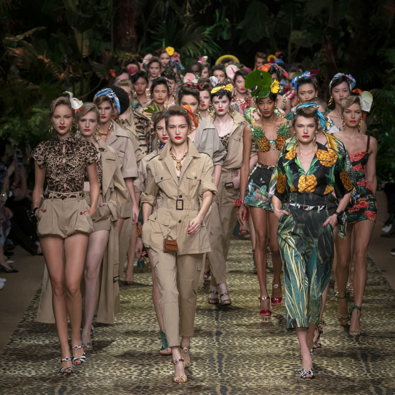 Dolce&Gabbanа и тяхната тропическа пролет
