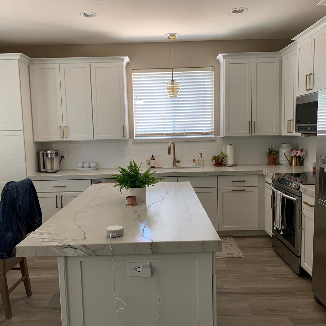 Кухня в бяло = сбъдната мечта