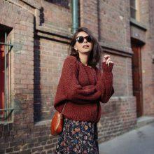 Топло вдъхновение: Как да носим макси пуловер
