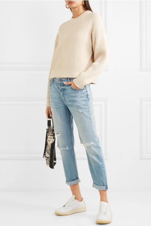 Slim boyfriend jeans от GRLFRND