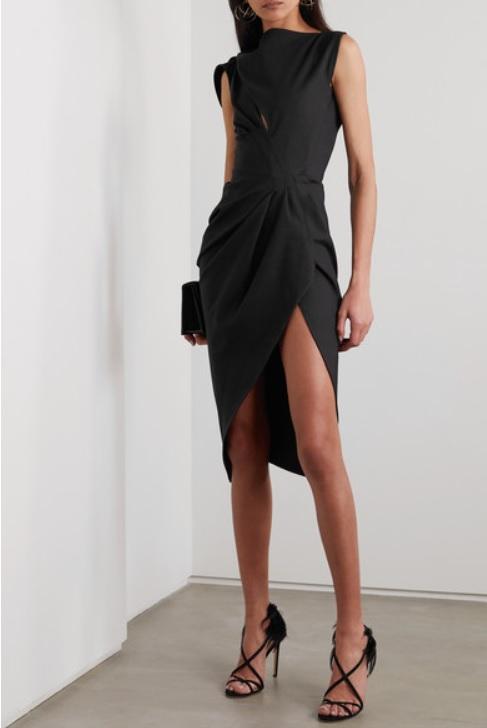 Черна рокля от MATICEVSKI