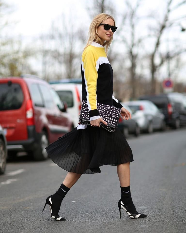 За чорапите и тенденциите или модерно намигване