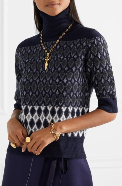 Пуловер поло от мериносова вълна от CHLOÉ