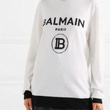 Пуловер от BALMAIN