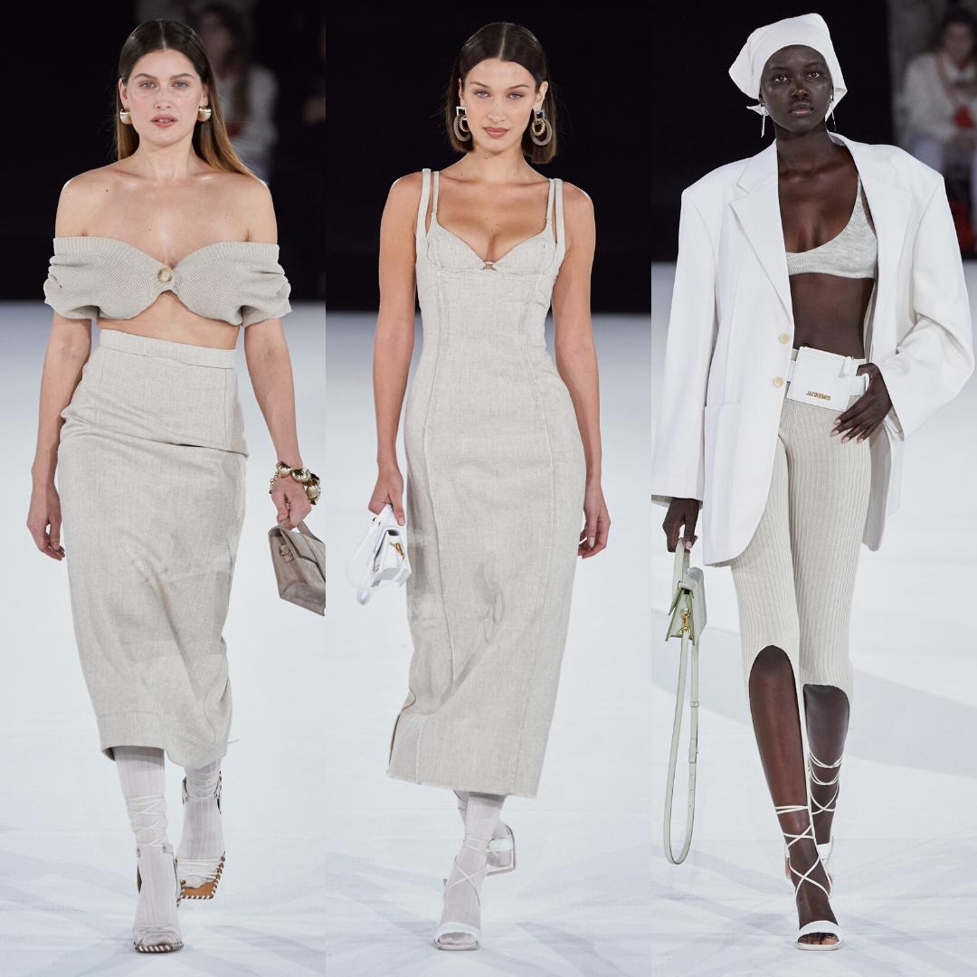 Jacquemus и моделите, които остават
