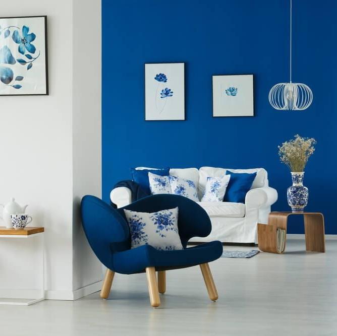 Интериорни вдъхновения: Класическо синьо в главната роля