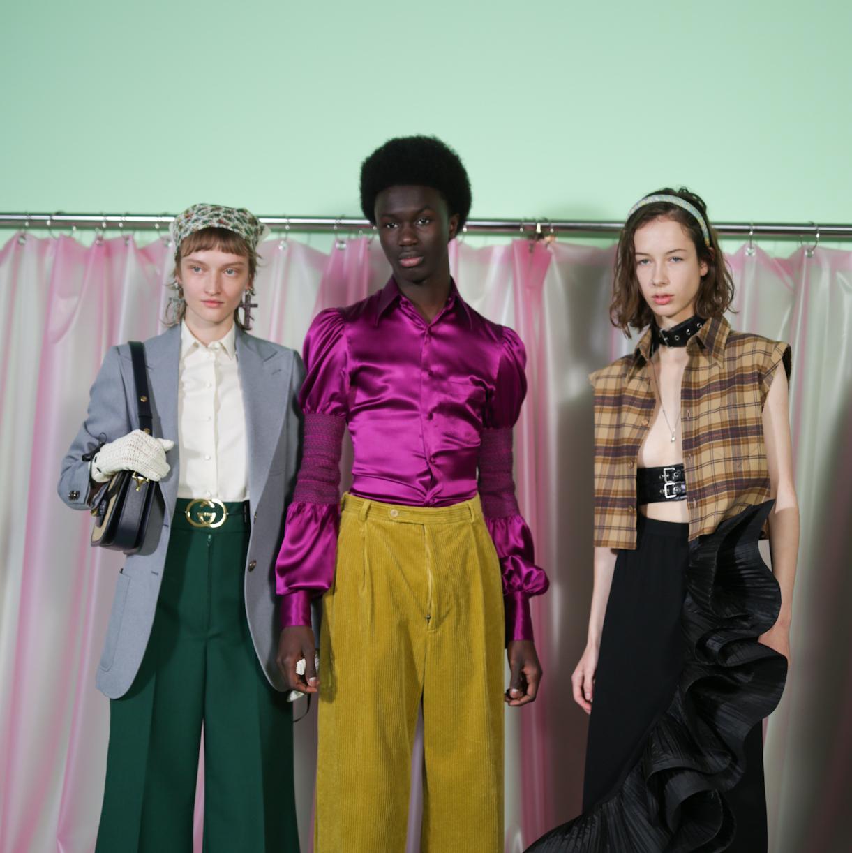 Gucci, Versace, Armani – три различни погледа към модата и света