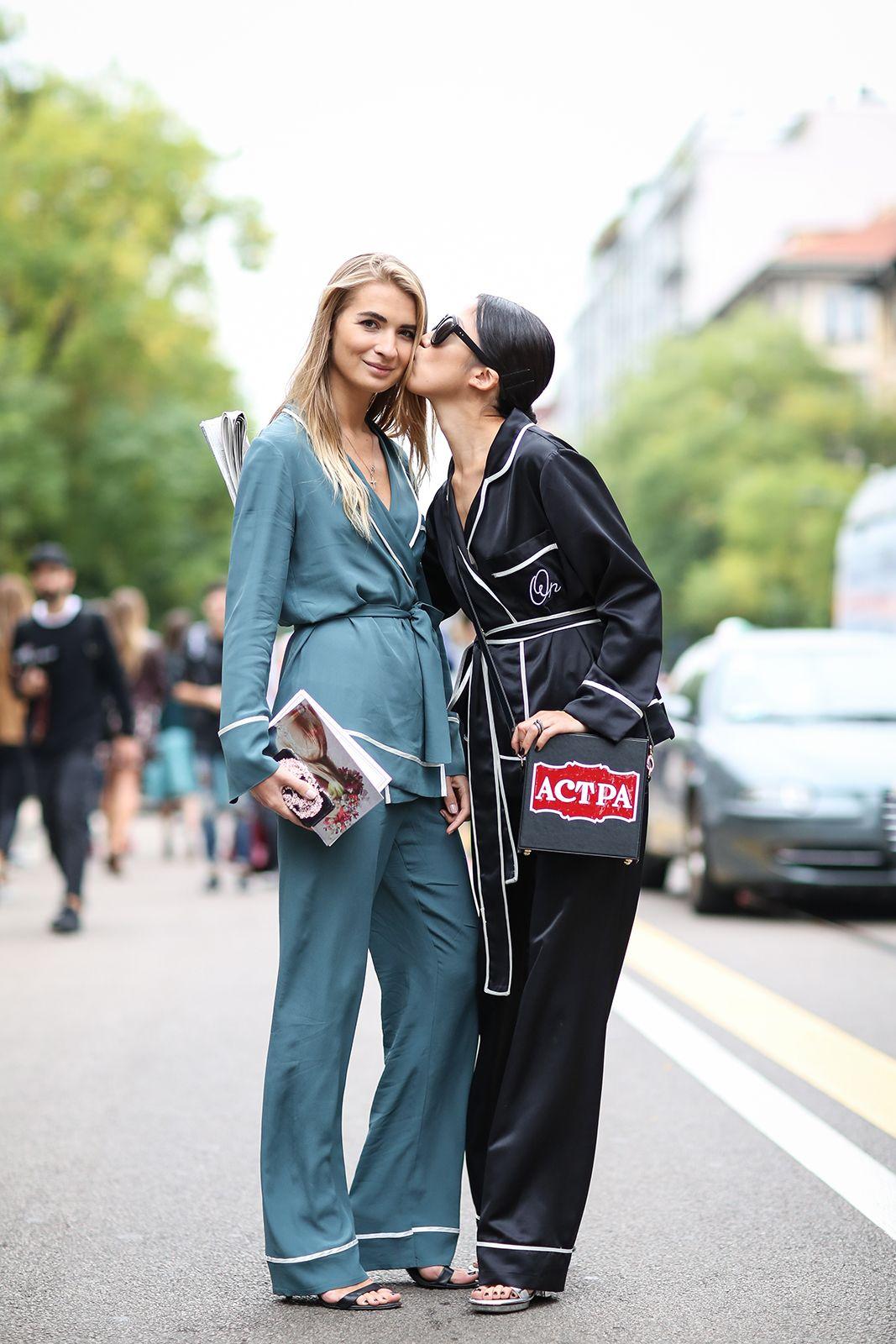 ТРЕНД РАДАР: С пижами на улицата