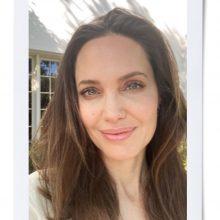 Снимка на деня: Анжелина Джоли през погледа на сина си