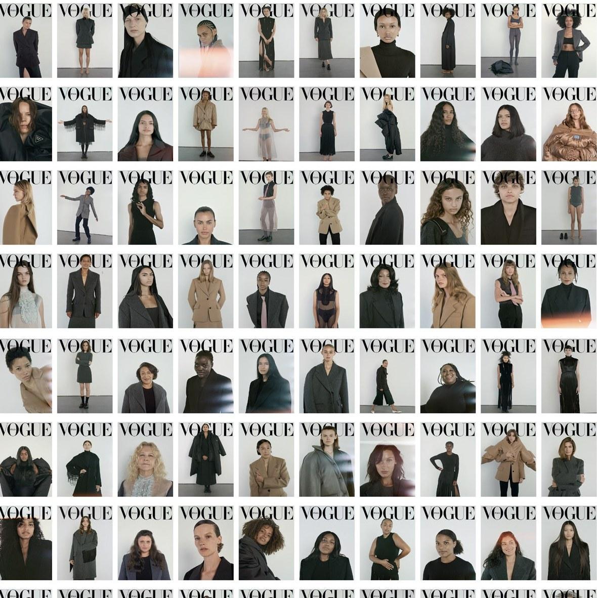Vogue Italia и 100-те корици съвършенство
