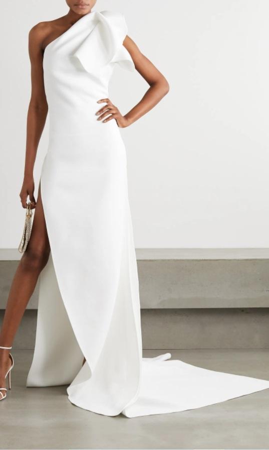 Бяла рокля от MATICEVSKI