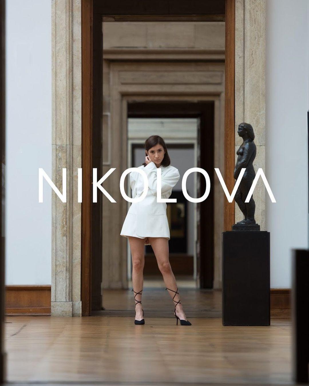 All white – белият, магичен свят на NIKOLOVA
