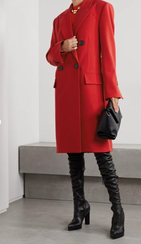 Червено палто от PROENZA SCHOULER