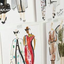 Модната илюстрация – изискана артистичност без конкретен размер