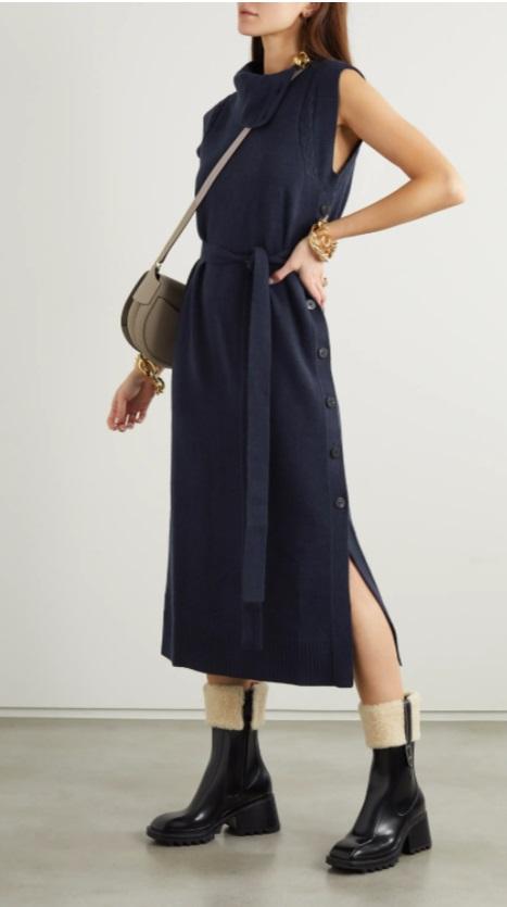 Миди рокля от CHLOÉ