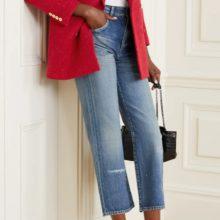 Червено сако от SAINT LAURENT