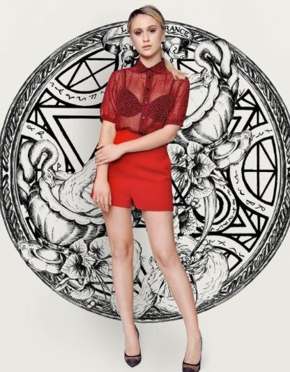 Снимка на деня: Мария Бакалова в Dior