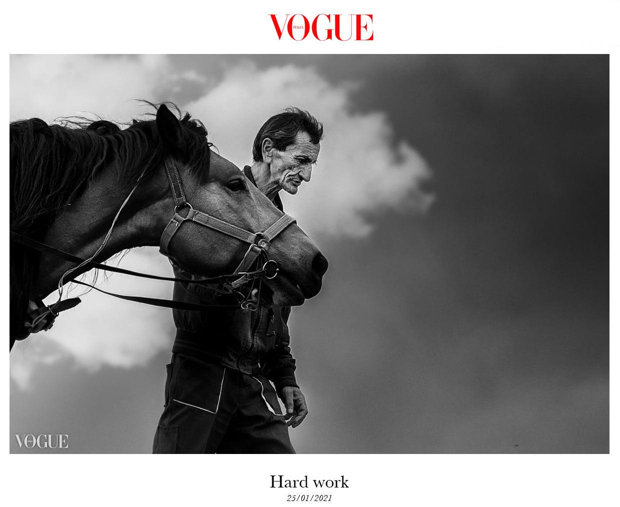 Снимка на деня: фотографии на Владо Карамазов във Vogue