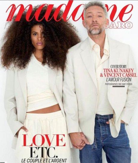 Снимка на деня: Тина и Венсан на корицата на Madame Figaro