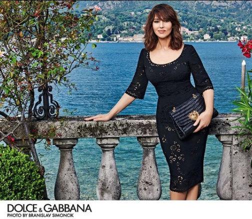Снимка на деня: Моника Белучи за Dolce&Gabbana