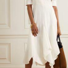 Асиметрична миди рокля от LOEWE
