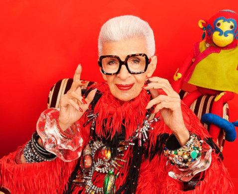 100 модела очила за 100-тния рожден ден на Айрис Апфел