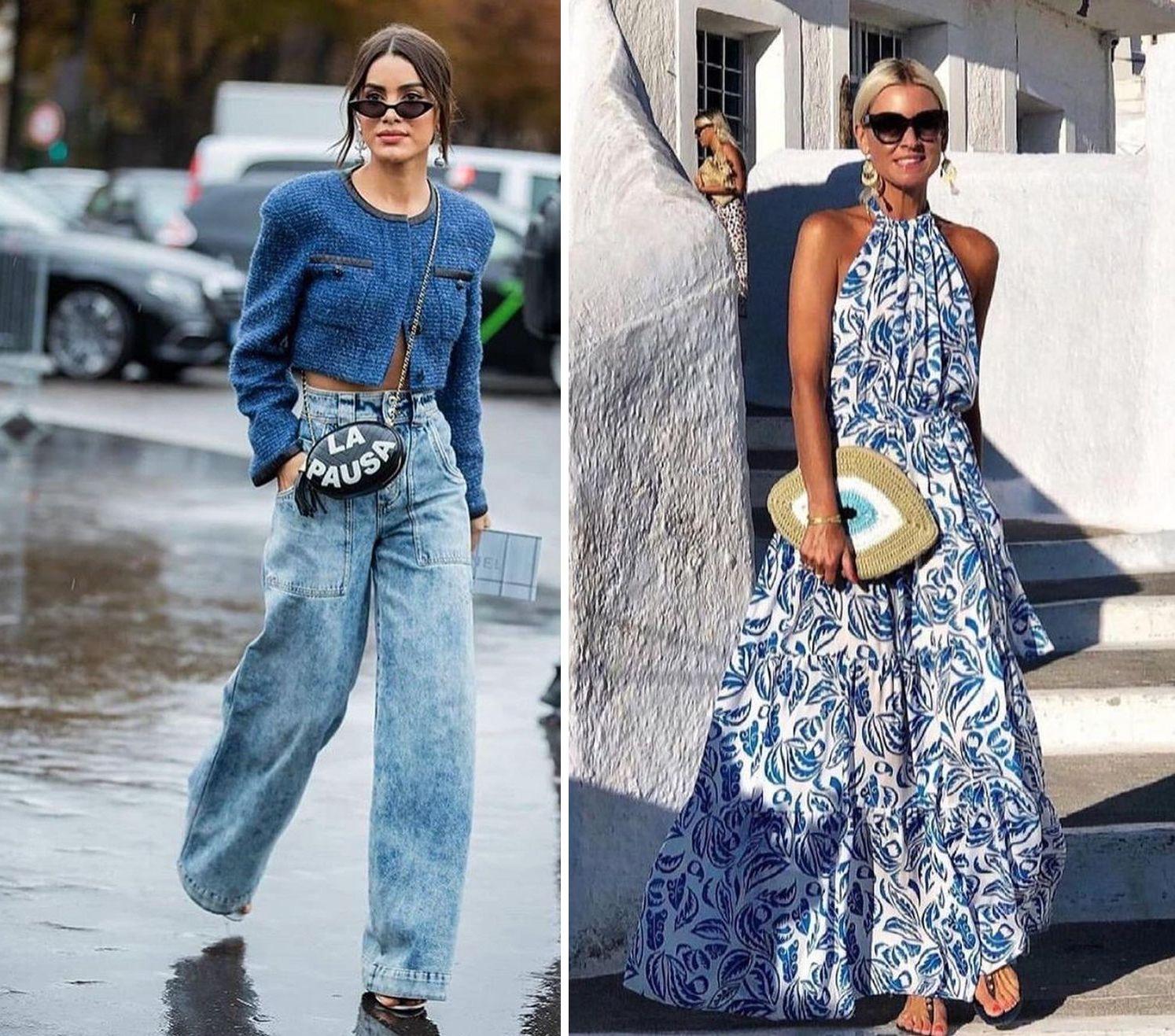 СИНЬОТО – как да бъдете на гребена на модната вълна