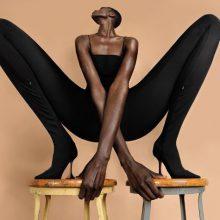 Amina Muaddi x Wolford – секси колаборация