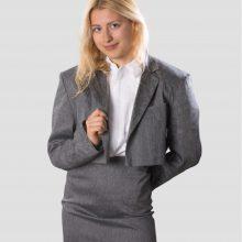 Скъсено сако със скрито закопчаване NIKOLOVA