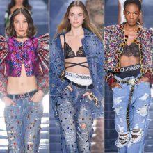 Носталгия по 2000-та в пролетната колекция на Dolce&Gabbana